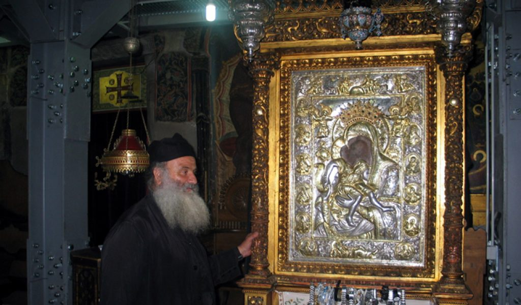 Η θαυματουργή εικόνα της Παναγίας του Άξιον Eστί