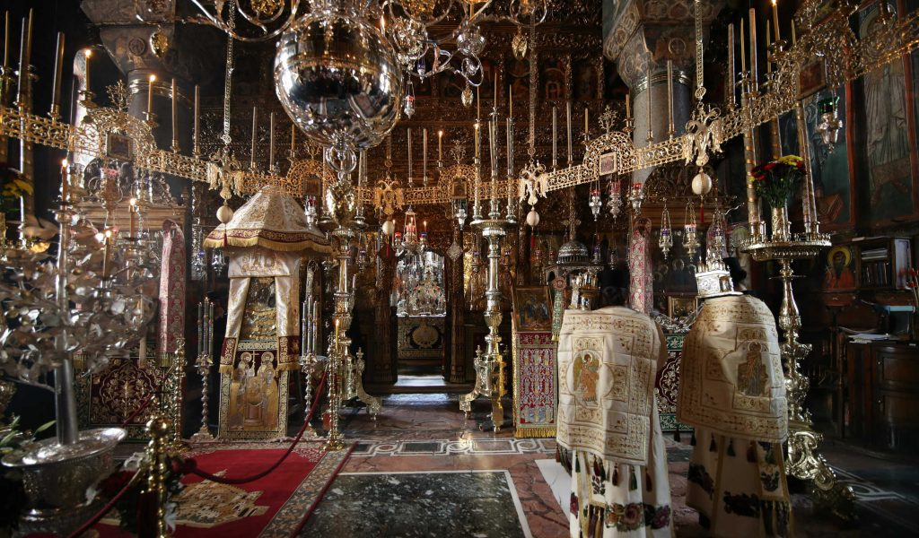 Mount Athos feast of Mary Virgin
