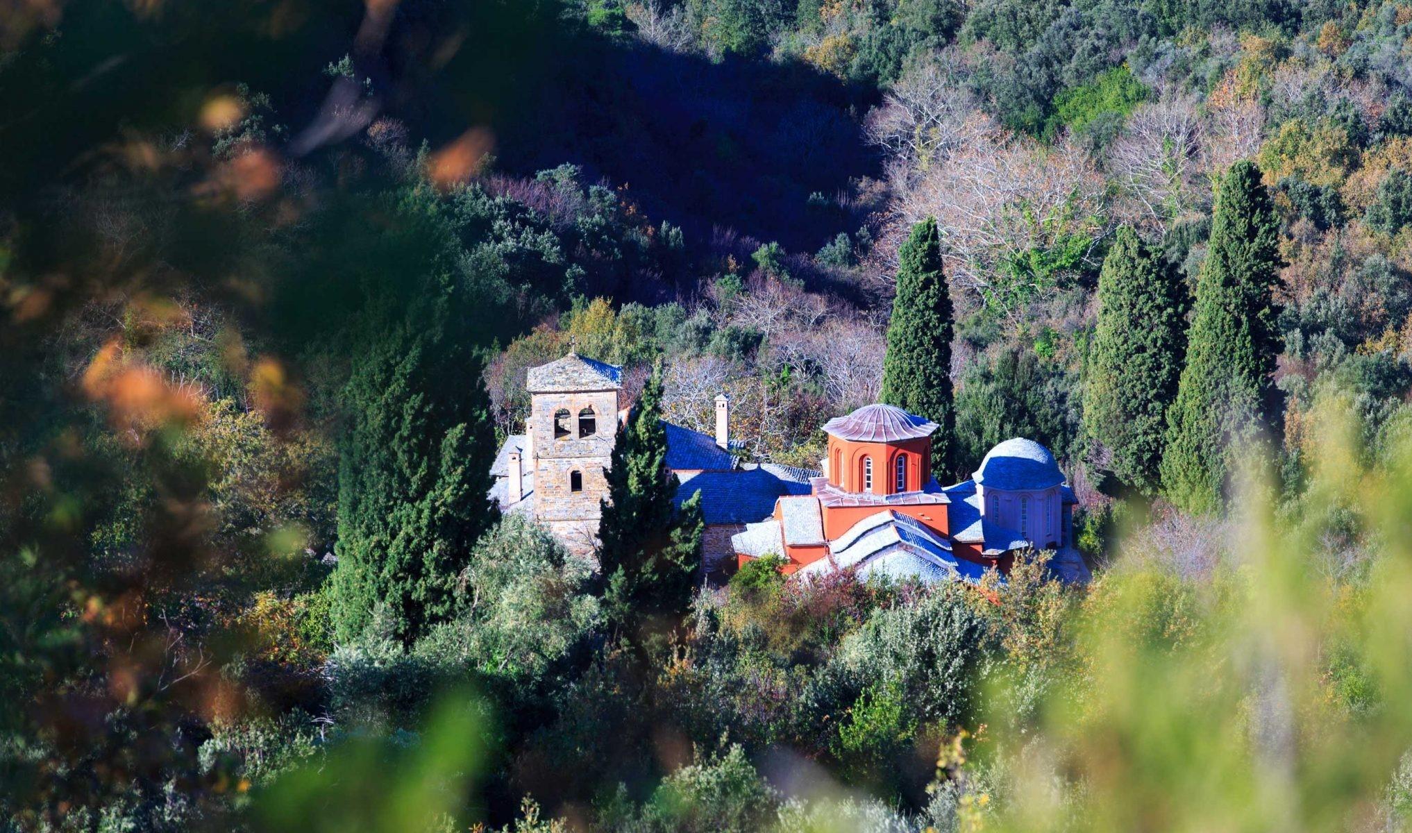 Άγιον Όρος Βατοπεδινή  Σκήτη Αγίου Δημητρίου