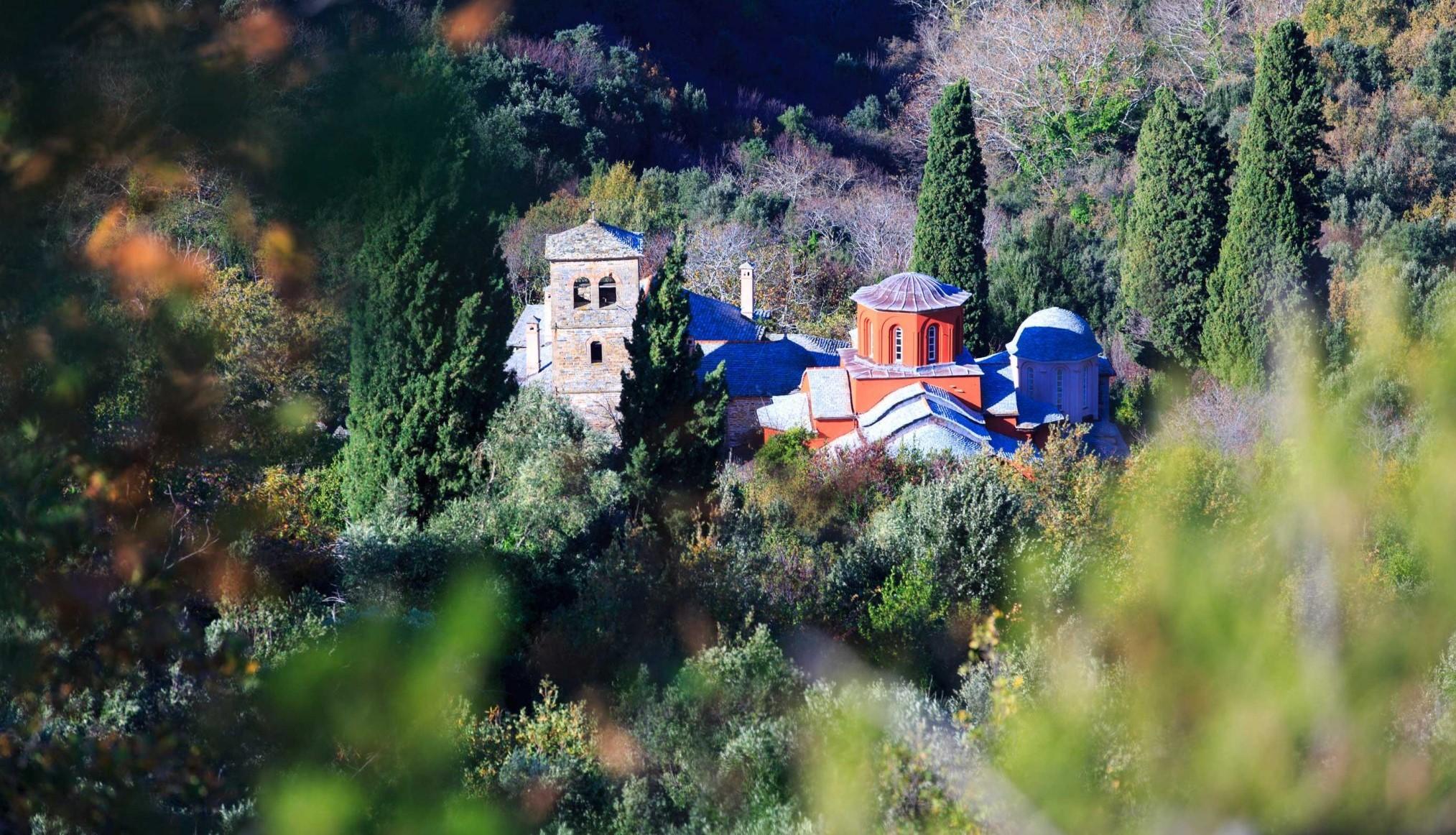 Mt Athos the skete of Saint Demetrios