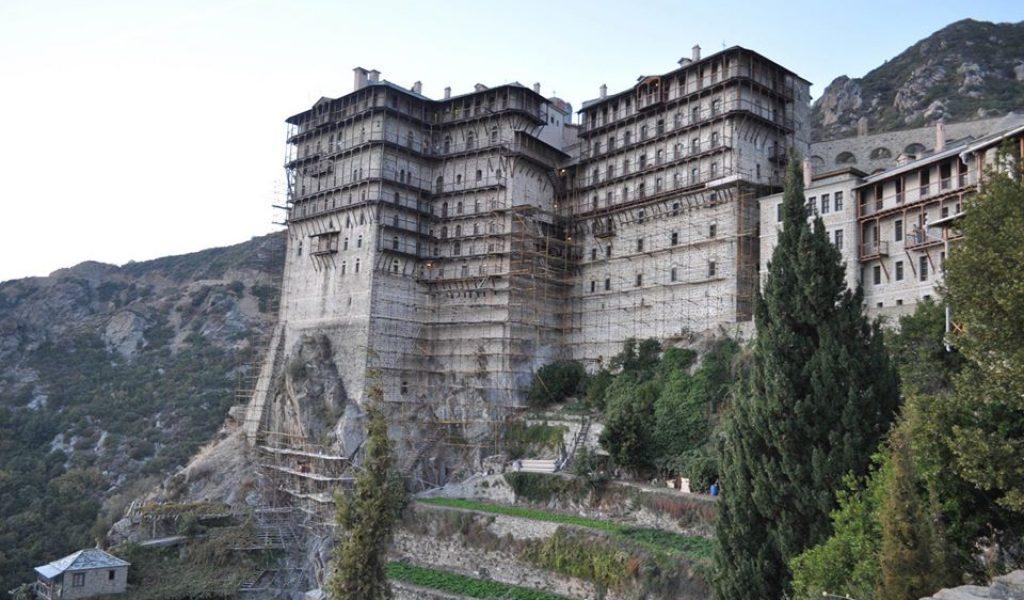 Άγιο Όρος ιερά μονή Σίμωνος Πέτρα η μονή του Σίμωνος