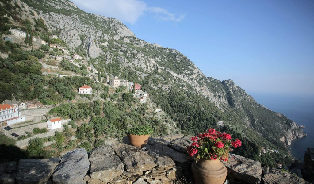 Mt Athos the Major Skete of St. Anne's
