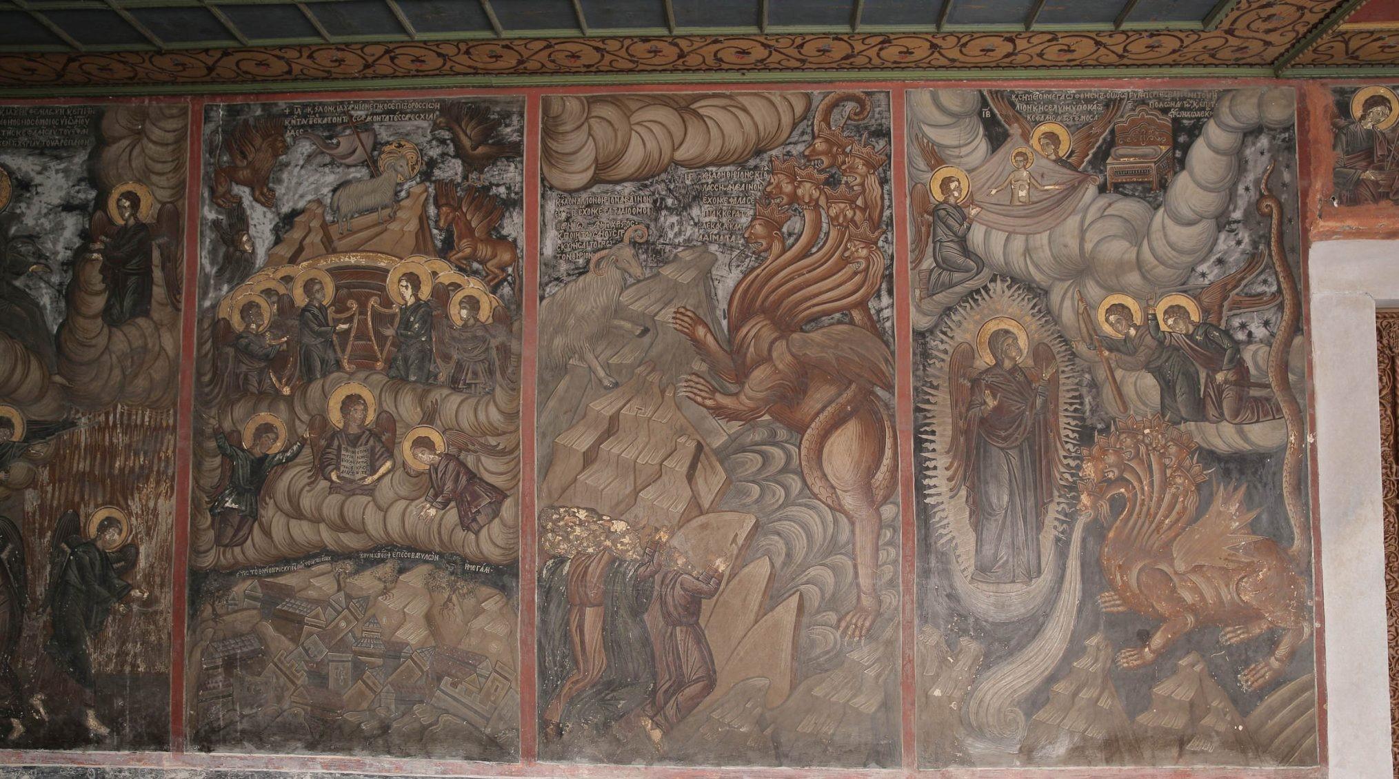 Mount Athos paintings of Apocalypse